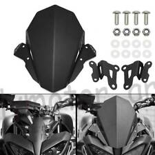 For YAMAHA MT-09 FZ-09 2017- 2020 CNC Windscreen Windshield Wind Deflector Cover