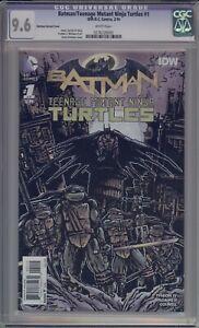 BATMAN/TEENAGE MUTANT NINJA TURTLES #1 - CGC 9.6 - EASTMAN VARIANT - 0276726002