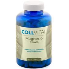 Citrato de magnesio concentrado 180 Cápsulas de 400mg tratamiento para 6 meses.