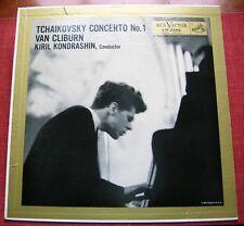 Tchaikovsky Concerto No 1 Van Cliburn Kiril Kondrashin LM-2252 record album LP