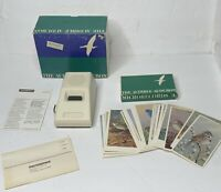 1977 Microsonics Microphonograph EB-6 Audible Audubon Bird Songs & 27 Cards