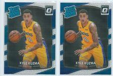 2017-18 Panini Donruss Optic Kyle Kuzma Rated Rookie RC lots*2