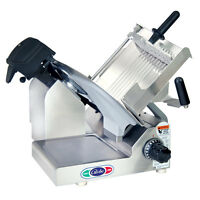 """Globe 3600N Manual Gravity Feed Meat Slicer with 13"""" Carbon Steel Blade"""
