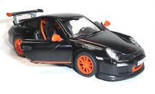 NEU: Porsche 911 GT3 RS schwarz Sammlermodell ca. 12,5cm Neuware von KINSMART