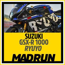 Kit Adesivi Suzuki GSX-R 1000 2018 RYUYO Edition - High Quality Decals -MRR084