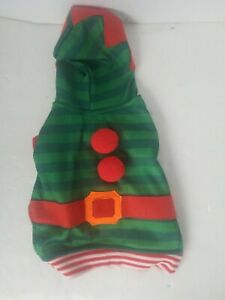 Casual Canine ELF  Dog Pet Christmas Holiday size X small