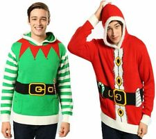 Christmas Hooded Jumpers & Cardigans for Men