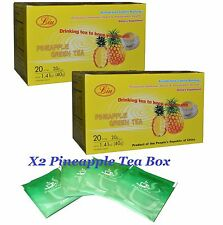 X2 Unid TE DE PINA PARA ADELGAZAR, Weight Loss pineapple green tea slim tea
