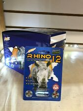 Rhino 12 Platinum 25000 Male Enhancement for Maximum Erectile 100% Authentic USA