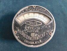 Antique Reliance Instruments Voltmeter Type W