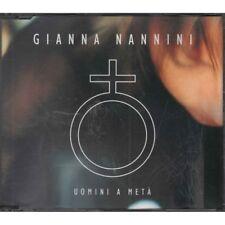 Gianna Nannini Cd'S Singolo Uomini A Meta' / Polydor Nuovo 0731457070529