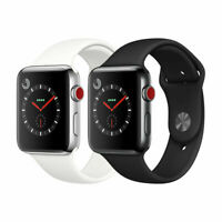Apple Watch Series 3 Stainless Steel 38mm 42mm (GPS + Cellular) Gray/Silver