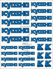 Kyosho RC Sticker Decal buggy cars truck MP10 Inferno Ultima Lazer ZX7