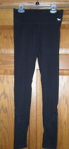 Victoria's Secret PINK Ankle Length YOGA Pants Leggings Mesh Size XS ExcCond