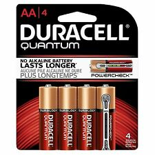 Duracell Quantum Alkaline Batteries, AA 4 Batteries