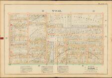 BRIDGET CHURCH COPY ATLAS MAP 1888 MONROE CO ROCHESTER NY GENESEE PARK HOTEL ST