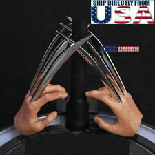 """1/6 Wolverine Metal Claw Hands For 12"""" Hot Toys PHICEN Logan Muscular Figure USA"""