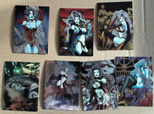 lot trading cards Lady Death