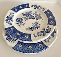 Royal Staffordshire Cathay Ironstone J&G Meakin England  Dessert Plates - Set 4
