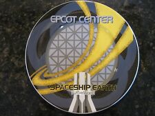"""Disney World, NEW 7"""" Ceramic Plate Featuring, Epcot Center- Spaceship Earth"""