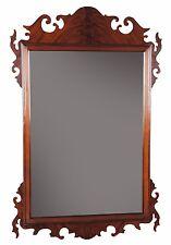 NBR018, Niagara Furniture, Chippendale Mahogany Mirror