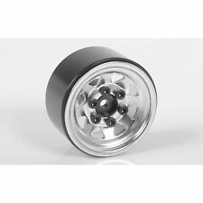 "RC4WD Stamped Steel 1.0"" Stock Beadlock Wheels (Chrome)"