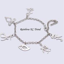 The Mortal Instruments City of Bones Angelic Power Rune Bracelet 6 Charms