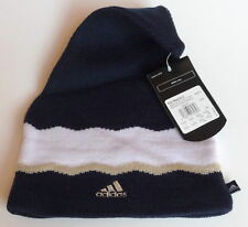 MENS ADIDAS FUN WOOLIE, BEANIE, HAT NAVY SIZE ONE SIZE FIT ALL, OSFA