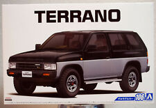 Aoshima 057087 1991 Nissan Terrano V6-3000 R3M JDM 1:24