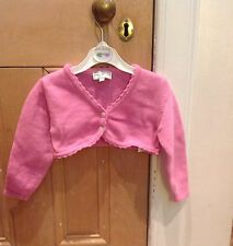 D'arcy Brown Cardigan, Woollen Age 2, Pink, Excellent Condition!