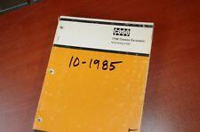 CASE 170B Excavator Trackhoe Crawler Parts Manual Book factory original 1985 OEM