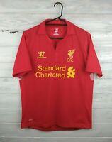 Liverpool jersey small 2012 2013 home shirt soccer football Warrior