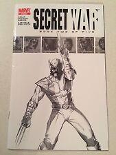 Secret War #2 sketch variant FIRST Quake Syke Daisy Johnson SHIELD TV show