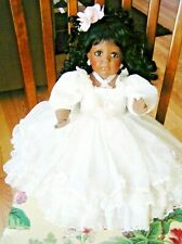 Beautiful African American Hard Plastic Doll By Jeanne Singer