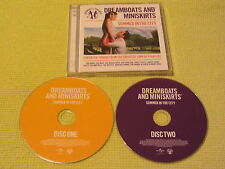 Dreamboats And Miniskirts Summer In The City 2 CD Album Rock N Roll ft Beach Boy