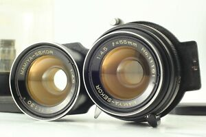 【NEAR MINT+++ w/ Case】 Mamiya Sekor 55mm f4.5 TLR Lens For C330 C220 From JAPAN