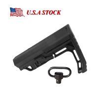 MFT Minimalist Stock Tactical Rife Adjustable Scorched Mil-Spec Black