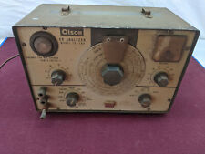 VINTAGE OLSON MODEL TE-189   CR Analyzer UNTESTED