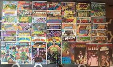 Lot of 53 DC comic Books Bronze To Modern,Catwoman,Flash,Supergirl,JLA,Nightwing