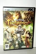 THE DARK EYE DRAKENSANG GIOCO USATO BUONO PC DVD EDIZIONE ITALIANA FX  31006