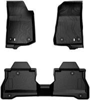 Floor Mats For 2020 2021 Jeep Gladiator JT Front & Rear Complete Set Floor Liner