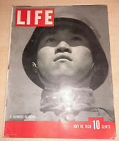 Life Magazine May 16 1938 - China vs. Japan, Hitler's Birthday, Shriners, Hawaii