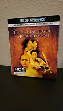 Crouching Tiger, Hidden Dragon 4K Uhd (With Slipcover)