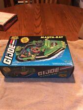 GI JOE MANTA-RAY Vintage Action Figure Vehicle Speed Boat MISB / COMPLETE 1994