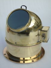 VINTAGE ALL BRASS HAE YANG SHIPS BOAT YACHT MAGNETIC NAVIGATION COMPASS