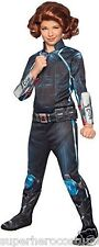 Avengers Age Of Ultron Deluxe Black Widow Child Costume MED 8-10 610444 Rubies