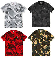A BATHING APE Men's - AAPE POLO Shirt TEE One Point Camo 4colors From Japan New