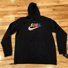 5833306323d7 Nike Soho Pullover Black Hoodie Sean Wotherspoon BQ4680-010 Men s LARGE NWT