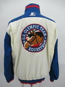 P5104 VTG Starter USA Equestrian Olympic Team Windbreaker Jacket Size L