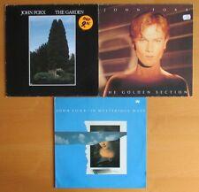 JOHN FOXX --- LP-Lot: 3 Alben - Vinyl --- Liste - TOP